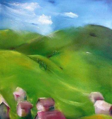 Zöldellő dombok